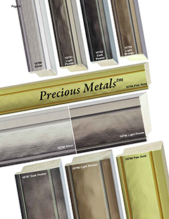 Mouldings, Picture Framing, custom picture framing